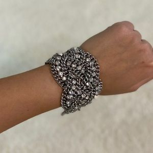 Stella and Dot Woven Chain Bracelet - NWOT